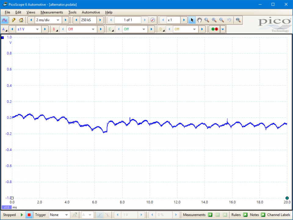 alternator ac ripple diode test delco diagram wiring ac alternator 111463447