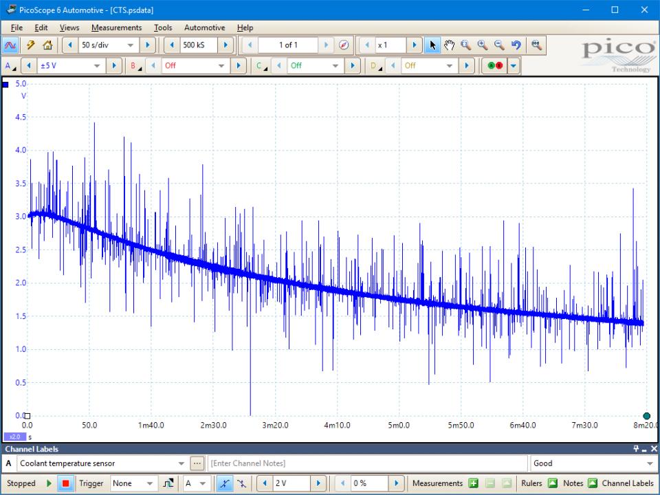 Engine Coolant Temperature  Ect  Sensor