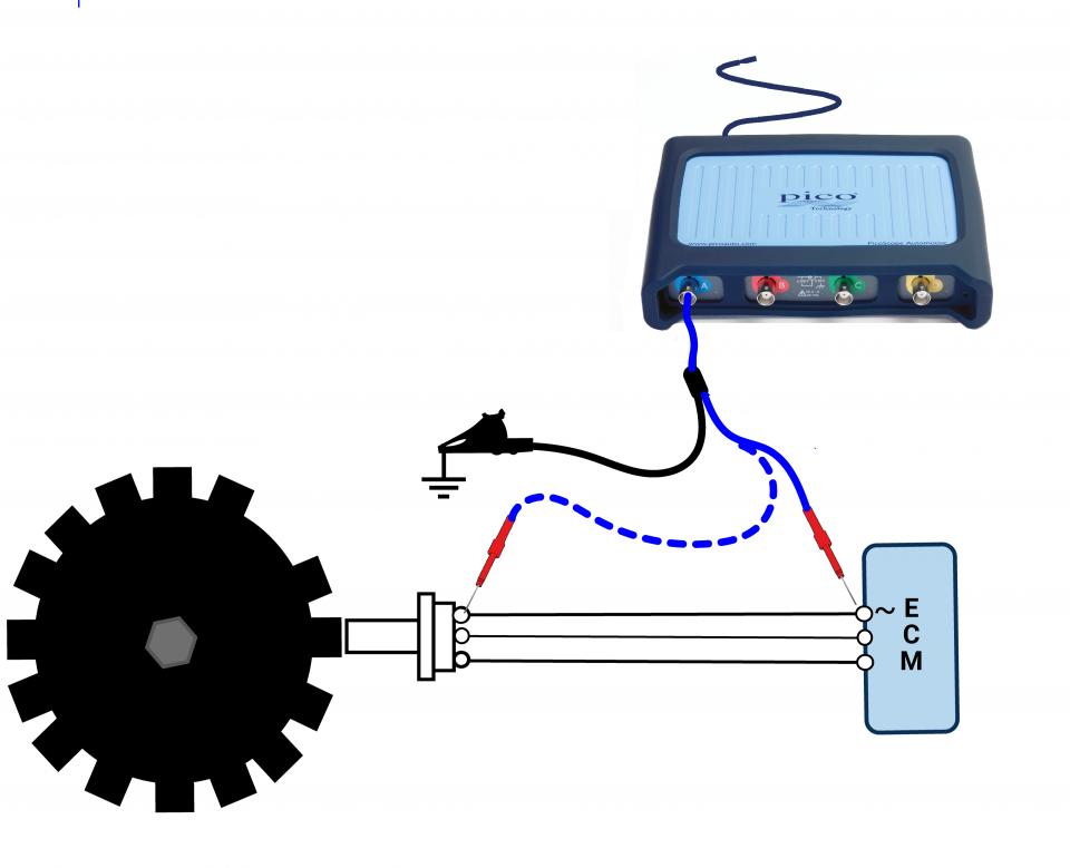 Crankshaft Position Sensor  Inductive