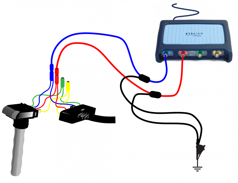 how to perform the test use vehicle wiring diagram: vauxhall coil pack  wiring diagram at