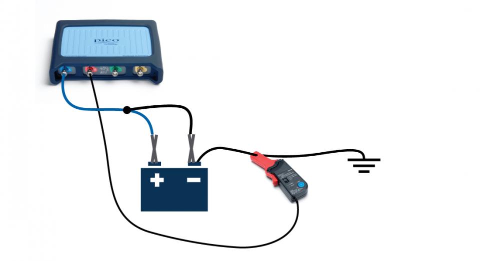 Battery Drain Test : Car battery parasitic drain test