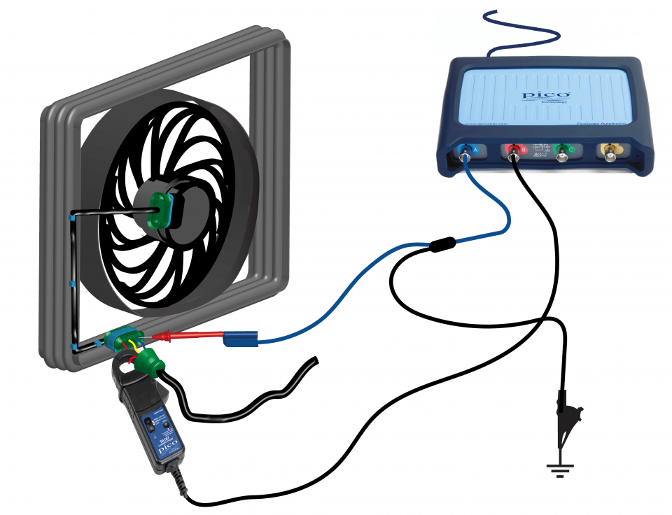 Cooling fan - variable speed