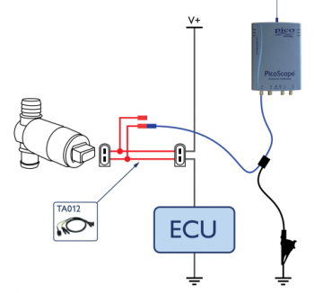idle speed control rotary solenoid circuit