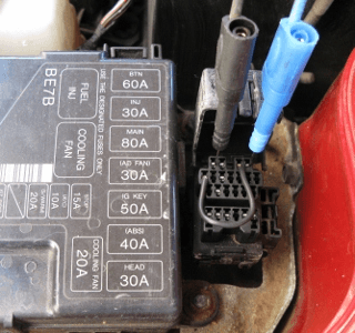 mazda 25-pin dlc - how to interpret - pico technology, Wiring diagram