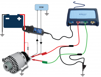 alternator smart charge (ford) Toyota Alternator Diagram