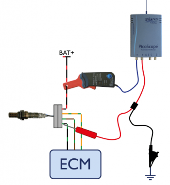 lamba oxygen sensor heater