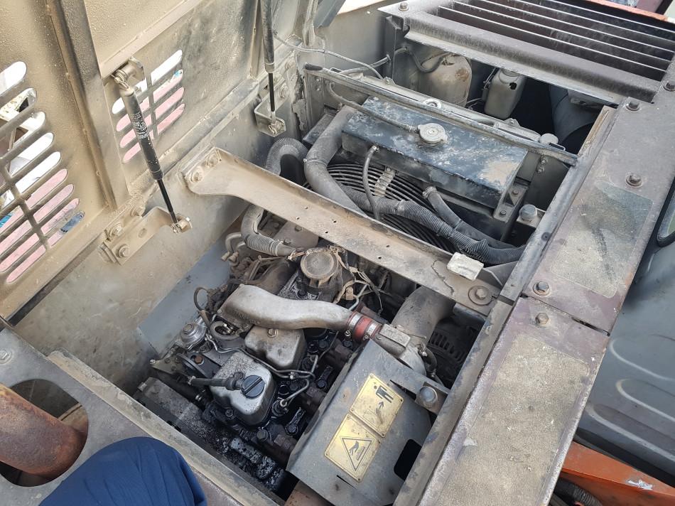 Fiat Kobelco E135 Excavator - Engine shutdown