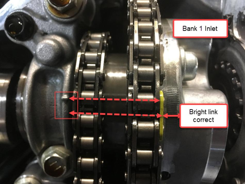 Camshaft correlation error (Quad Cam engine)