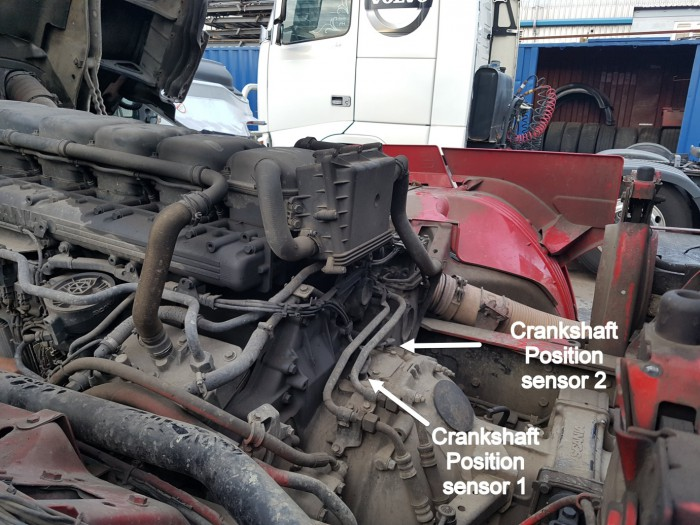 Scania R480 – Poor idle, misfire, smoke and fault codes