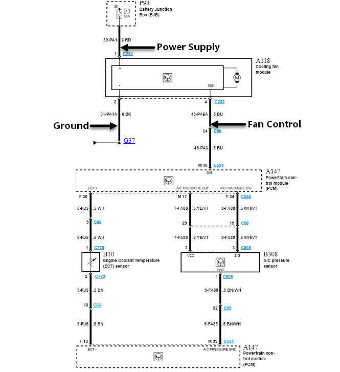 Figure 1: Wiring diagram