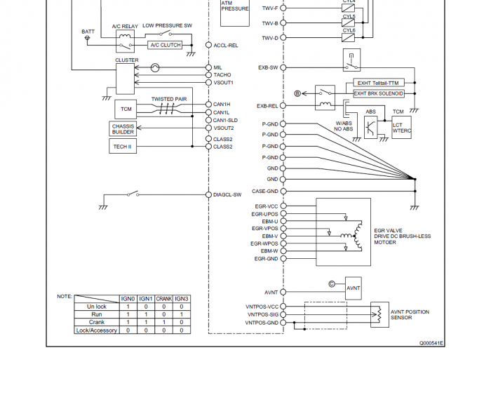 Egr Wiring Diagram - TSB Wiring Diagrams on