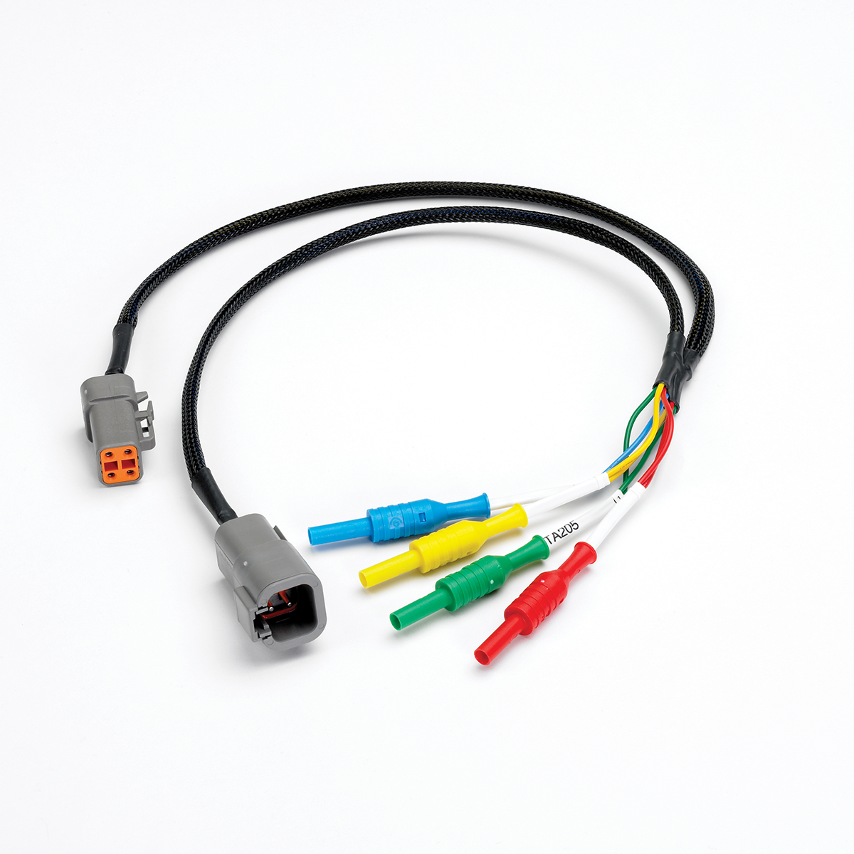 4-pin large Deutsch DTPXX-4 connector breakout lead