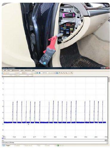 Injector fault | Audi A8