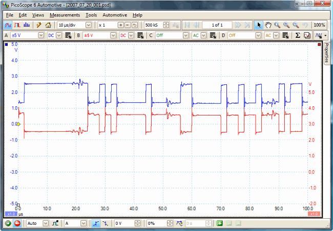 2001 Audi TT Quattro with intermittent ESP light, CAN bus errors
