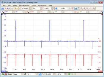 COP waveform