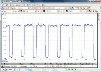 egr solenoid valve waveform