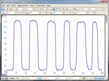 titania lamda sensor waveform