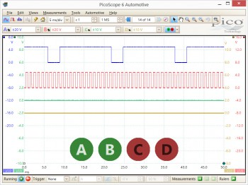oscilloscope connect detect feature