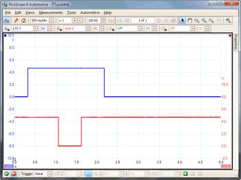 throttle position switch waveform